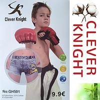 Детские подростковые боксеры GH501 Clever Knight от 6 до 15 лет в упаковке ТДБ-2999