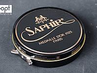 Паста для обуви Saphir Medaille D'or Pate De Luxe, цв. черный (01), 50 мл