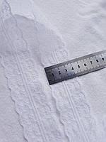 Кружево капроновое,цвет белый, ширина 4 см