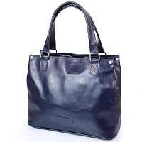 Сумка повседневная (шоппер) Laskara Женская кожаная сумка LASKARA (ЛАСКАРА) LK-DD219-navy, фото 1