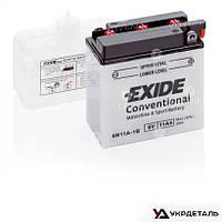 Аккумулятор EXIDE 11Ah-6v 6N11A-1B (121х59х131) │ R, EN95 (Европа)