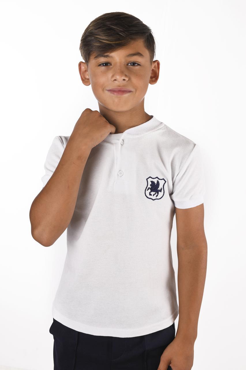 Футболка с эмблемой для мальчика
