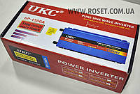 Инверторы  чистая синусоида - UKC SP-1500A 1500W Pure Sine Wave