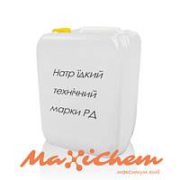 Сода каустическая жидкая марка РД, едкий натрий, 25л/37,5кг