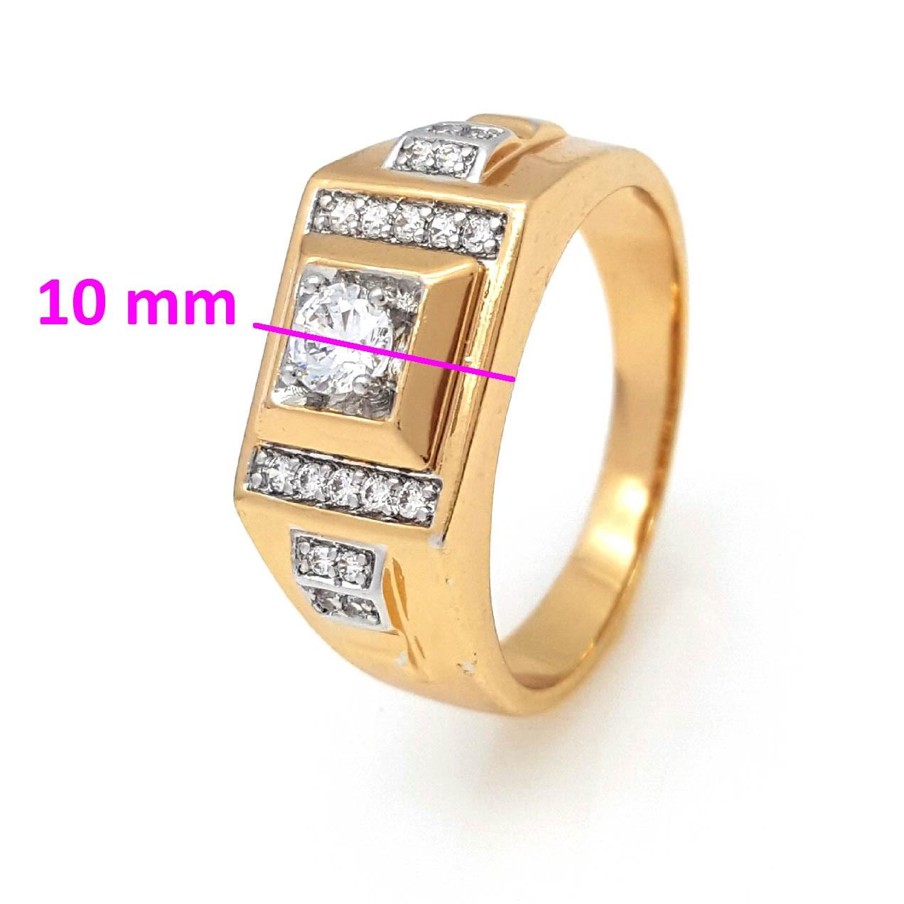 Кольцо Печатка в камнях, р.19,5 ,р.20, р.20,5 позолота+родий