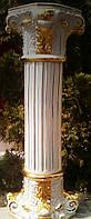 Колонна интерьерная Vittorio Sabadin,позолота,фарфор,оригинальные камни Сваровски,Эсклюзив,Римский стиль.