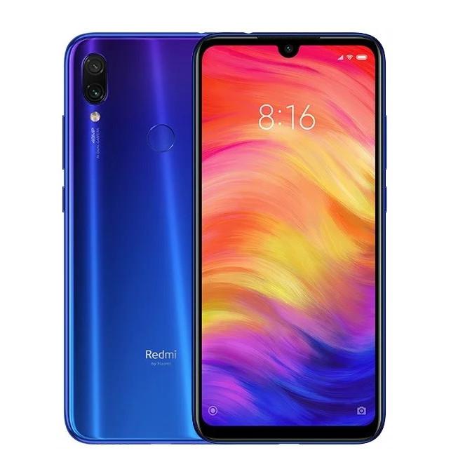 Cмартфон Xiaomi Redmi Note 7 Neptune Blue 4/64 GB Global