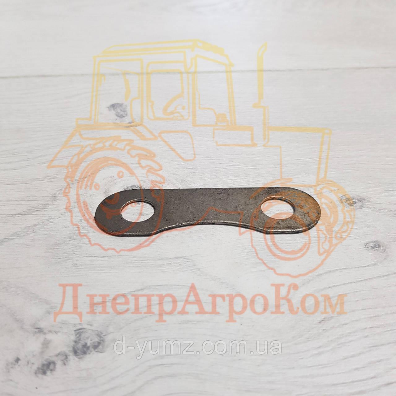Пластина маховика замковая короткая ЮМЗ | Д-65 | Д03-017