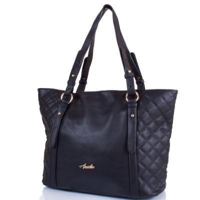 Сумка повседневная (шоппер) Amelie Galanti Женская сумка из качественного кожезаменителя AMELIE GALANTI (АМЕЛИ ГАЛАНТИ) A991174-black