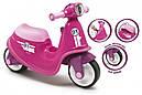 Детский мотоцикл беговел толокар Smoby розовый 721002, фото 2