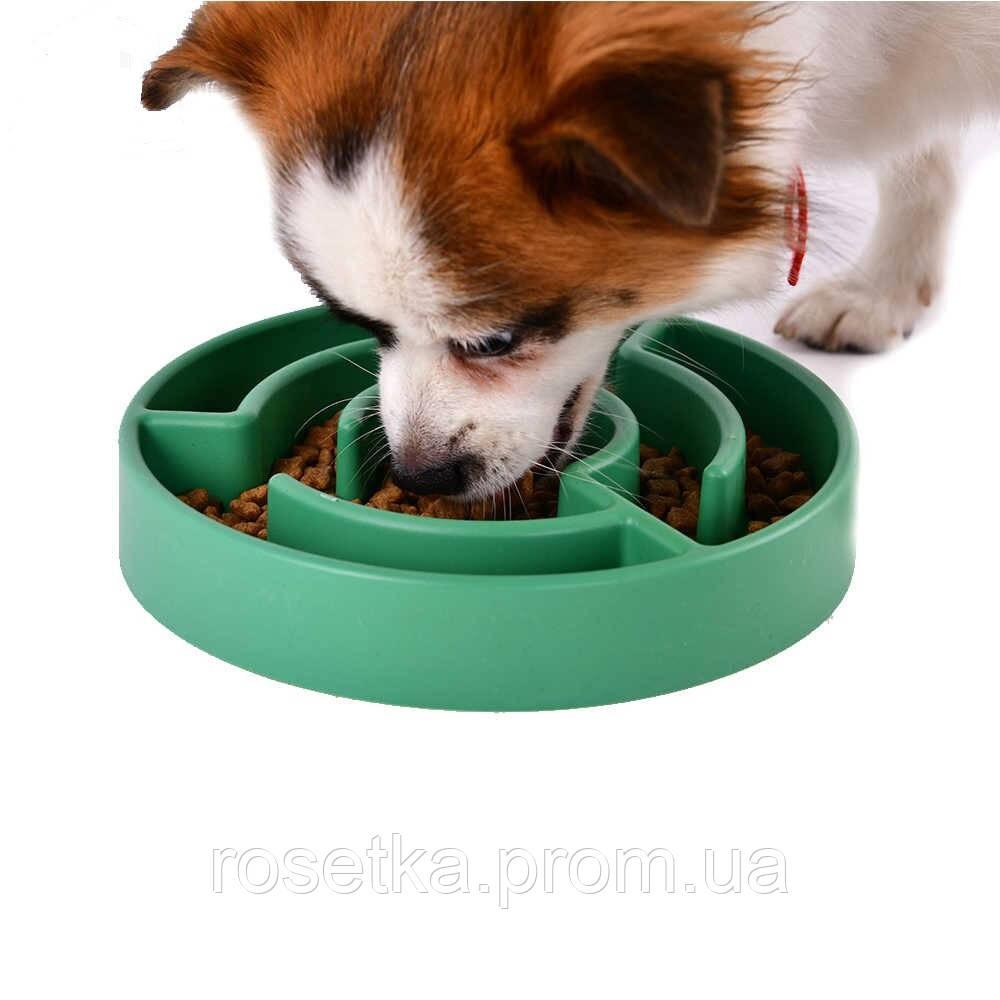 Миска-лабіринт для собак Slow Maze Feeder, миска для собак для повільного годування Animal Planet