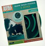 Миска-лабіринт для собак Slow Maze Feeder, миска для собак для повільного годування Animal Planet, фото 2