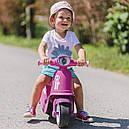 Детский мотоцикл беговел толокар Smoby розовый 721002, фото 7