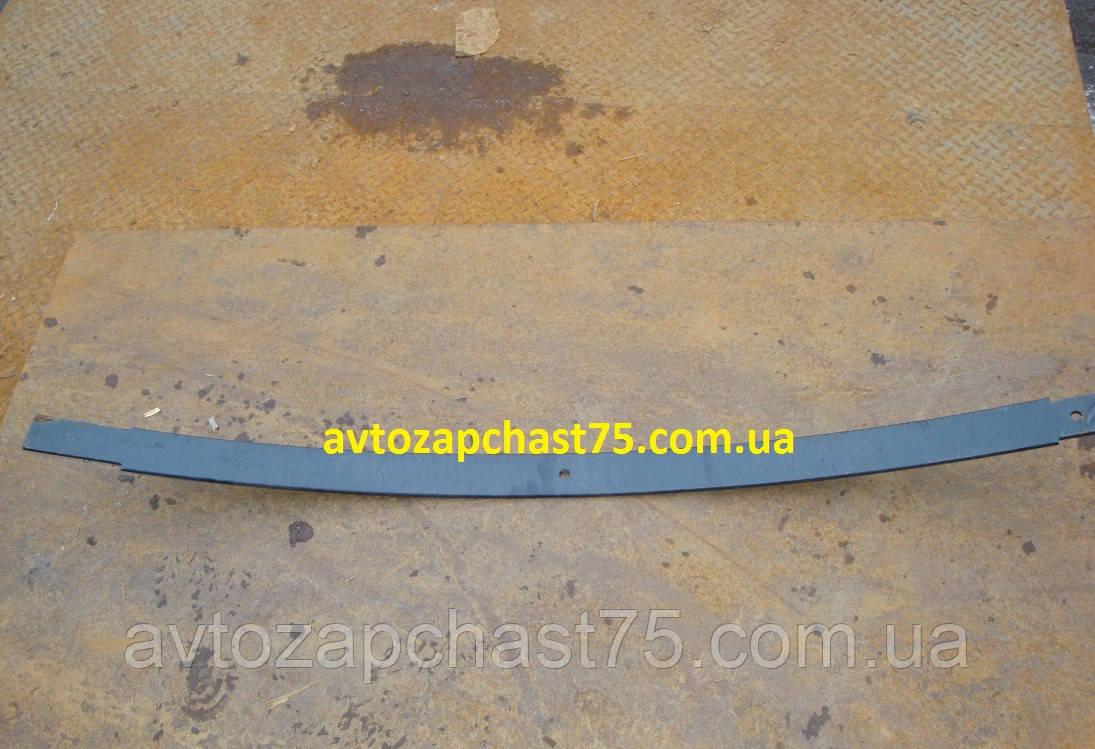 Лист рессоры Газ 33104 Валдай, №2 , 1650 мм, задний. (производитель ГАЗ, Россия)