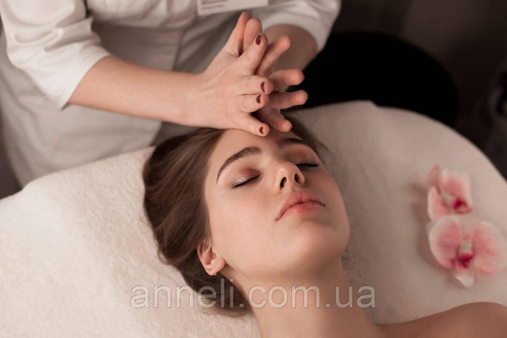 Классический массаж лица + альгинантная маска лифтинг+увлажнение