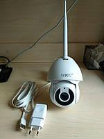 Wi-Fi ip камера видеонаблюдения наружная поворотная с микрофоном Full HD 1080P 2MP цветная датчик движения