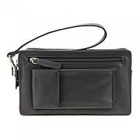 Барсетка мужская Visconti 18233 Wrist Bag (Black), фото 1