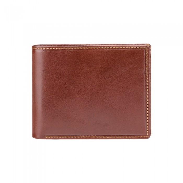Гаманець чоловічий Visconti MZ4 Lazio c RFID (Italian Brown)