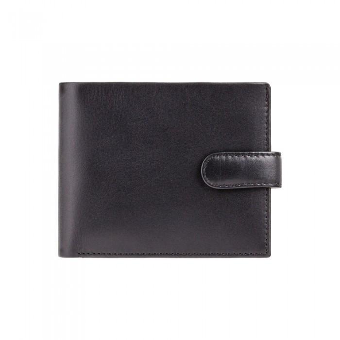 Кошелек мужской Visconti PM100 Vincent c RFID (Black Cobalt)