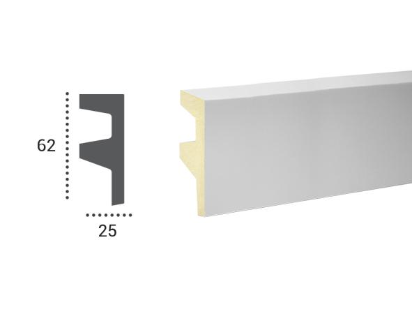 LED профили Tesori KF 501,лепной декор из полиуретана.