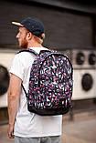 Городской рюкзак South Graf, рюкзак с принтом, фото 4