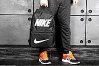 Рюкзак Nike городской стильный качественный, цвет черный, фото 1