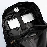 Городской рюкзак Classic Black, классический черный рюкзак, фото 8