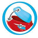 Детский мотоцикл беговел толокар Smoby красный 721003, фото 4