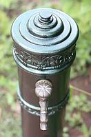 Колонка водоразборная, садовая, материал чугун.