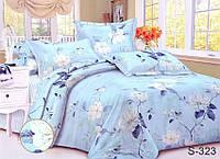 Комплект постельного белья с компаньоном сатин люкс S323