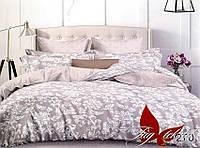 Полуторный комплект постельного белья с компаньоном сатин люкс S270