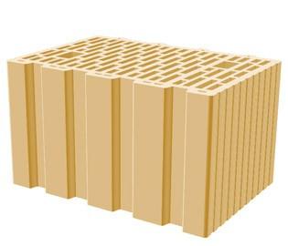 Кератерм 38 теплый керамический блок