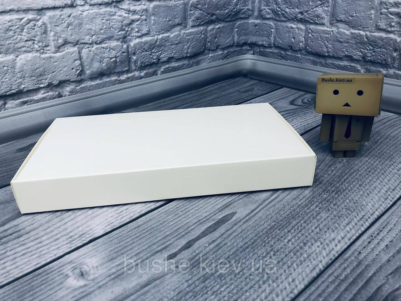 *10 шт* / Коробка для пряников / 150х280х35 мм / Белая / б.о.