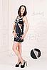 Комбинация высокого качества халат+сорочка Scarlett, фото 4