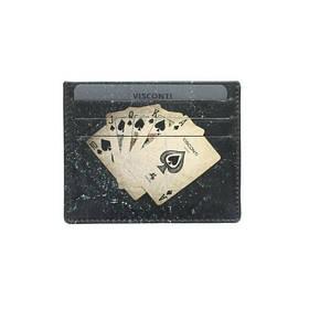 Картхолдер Visconti PKR44 (Black Poker)