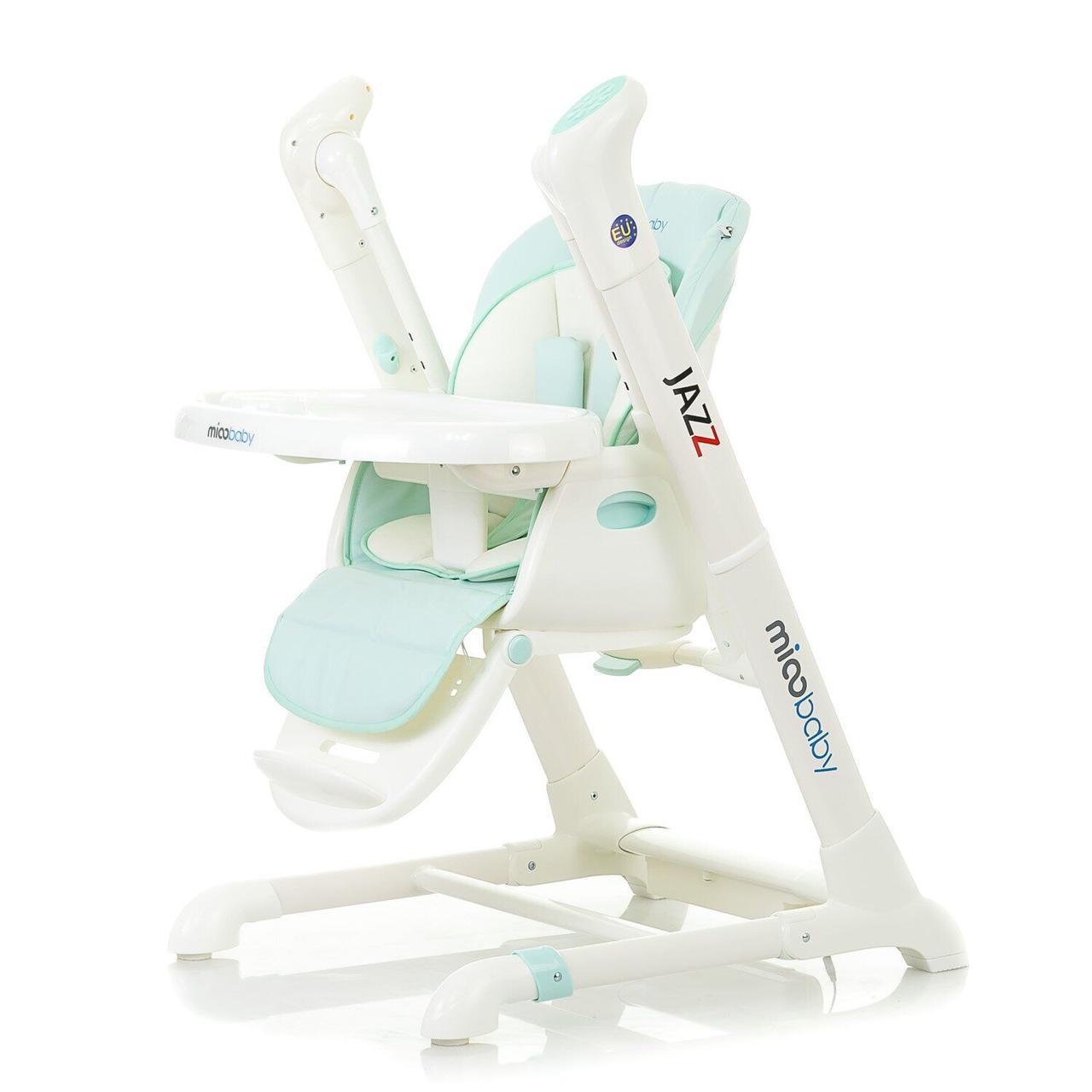 Детский стул-качалка Mioobaby Jazz HC818 бирюзовый