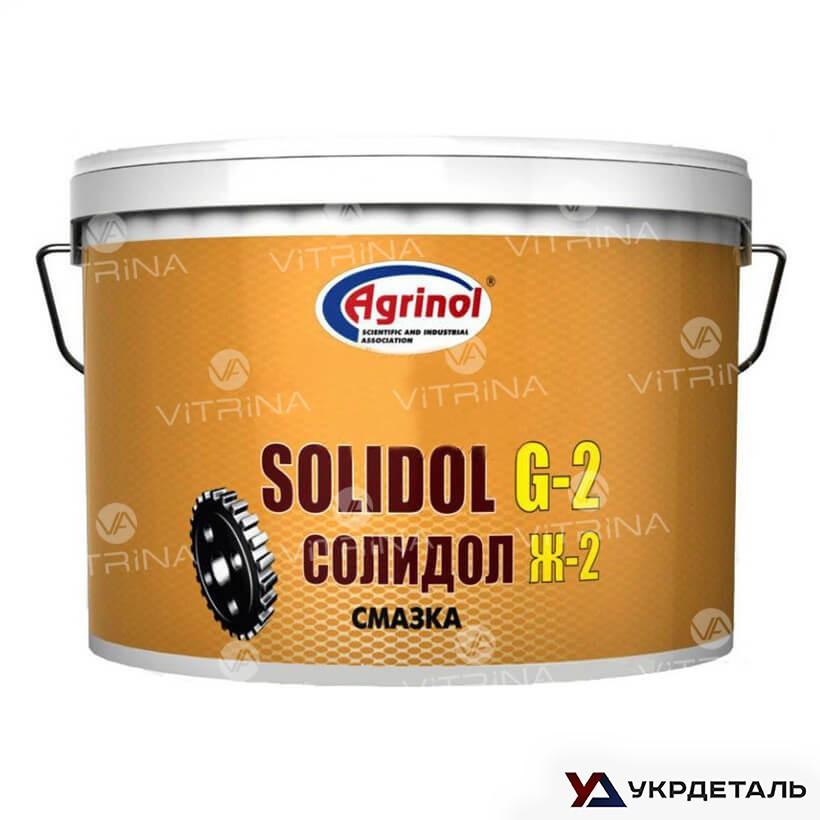 Солидол Ж-2 (Ведро 5л/4,5кг) антифрикционная универсальная смазка │ Агринол 4102789958