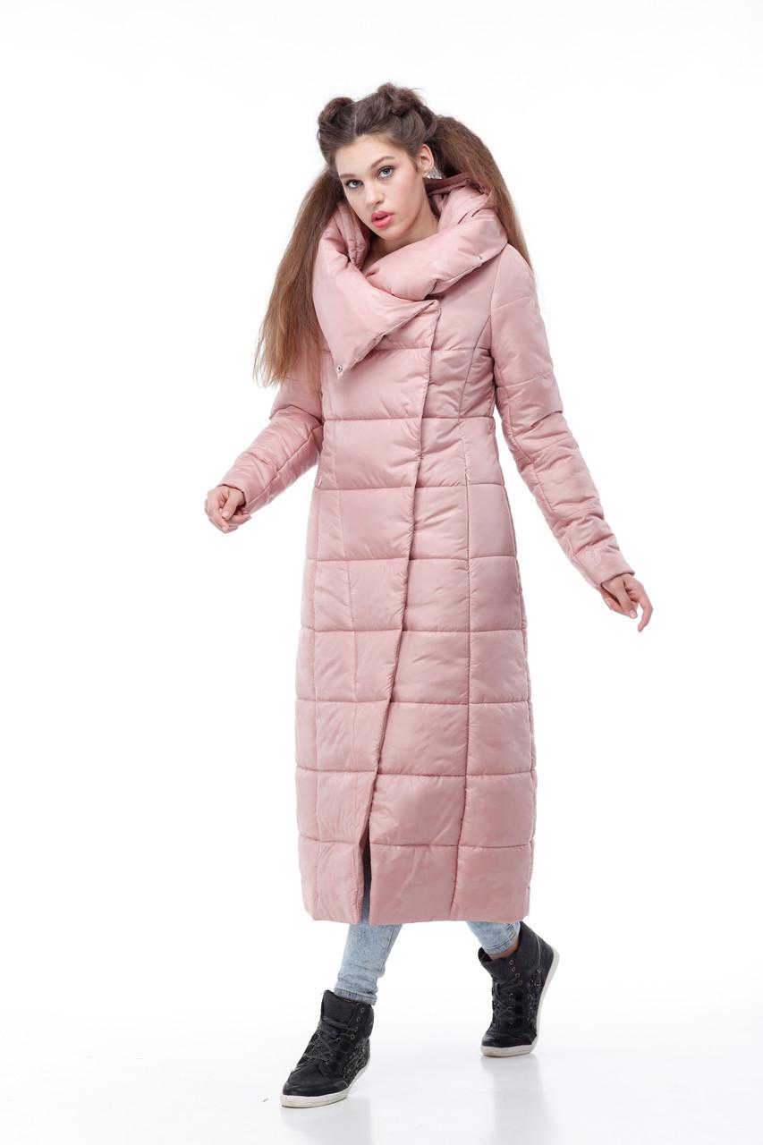 Пальто видовжене стьобана КОМІЛЬФО МІЛІТАРІ великих розмірів 42-54