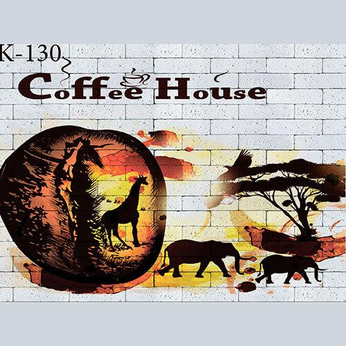 "Интерьерная деколь ""Coffee House"""