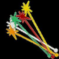 Мешалка для коктейля Звезда микс 190 мм 100шт