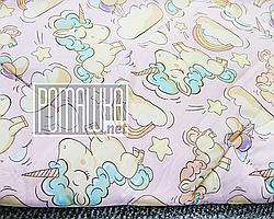 Одеяло детское 140х100 новорожденному малышу гипоаллергенное в кроватку для кроватки демисезонное 3019 Розовый