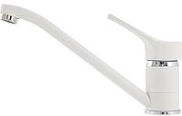 Смеситель снежно-белый для кухни Kernau KWT 03A Pure White