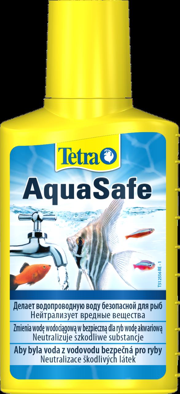 Tetra AquaSafe 500 мл на 1000 л засіб для підготовки води в акваріумі