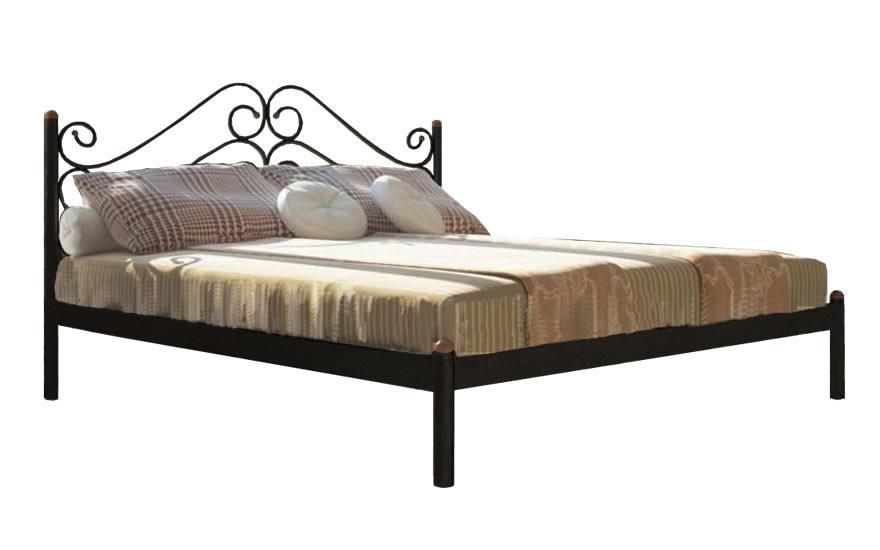 Кровать Металл-Дизайн Адель Черный