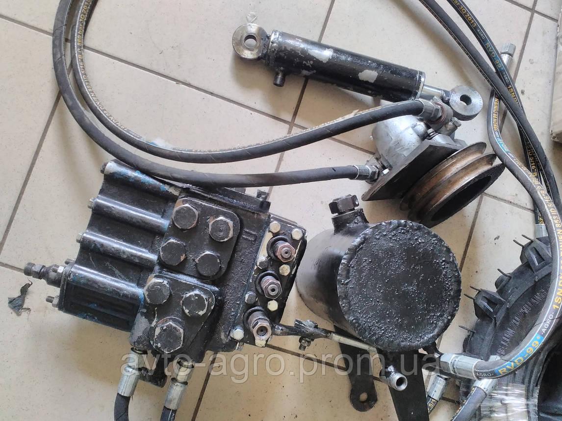 Навісне гідравлічне обладння мототрактора, мінітрактора б/у Зубр, БУлат, Форте та ін., фото 2