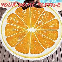 Пляжный коврик Апельсинка
