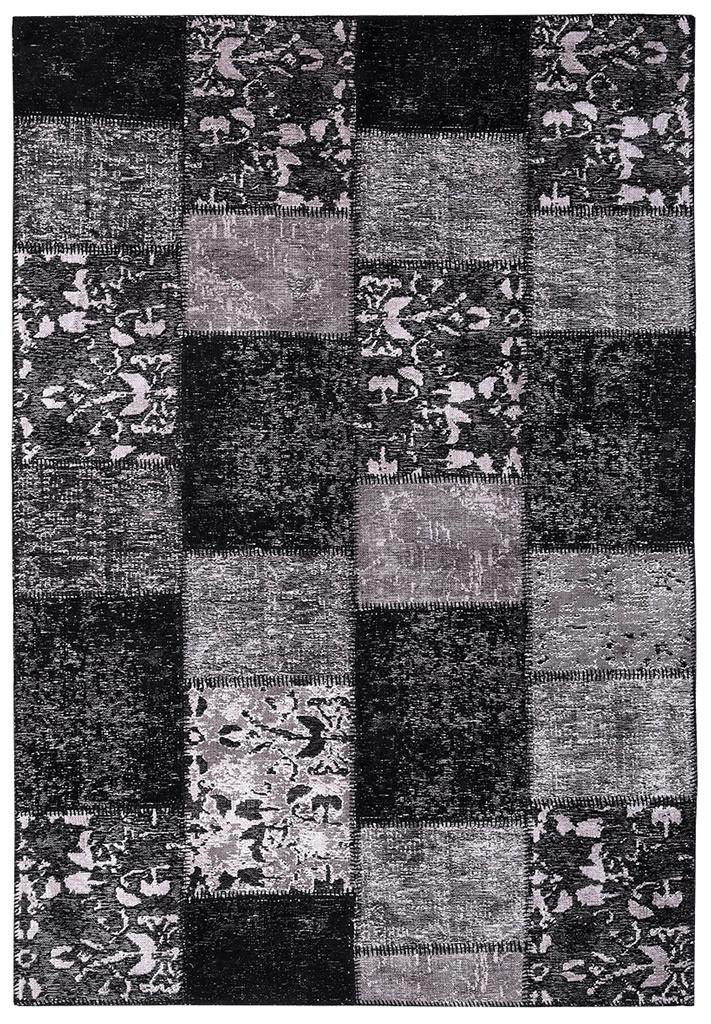 Ковер Moretti Patchwork темный серый