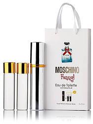 Туалетная вода женская Moschino Funny edt 3X15 ml, Подарочная упаковка!