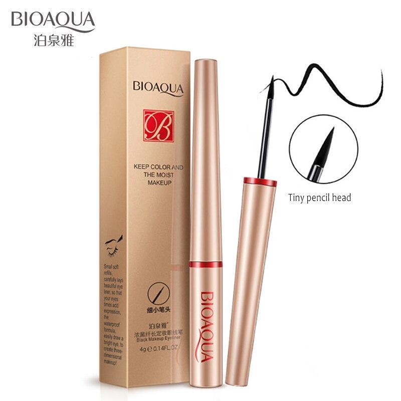 Водостійкий олівець-лайнер Bioaqua Keep Color для макіяжу очей (4г)