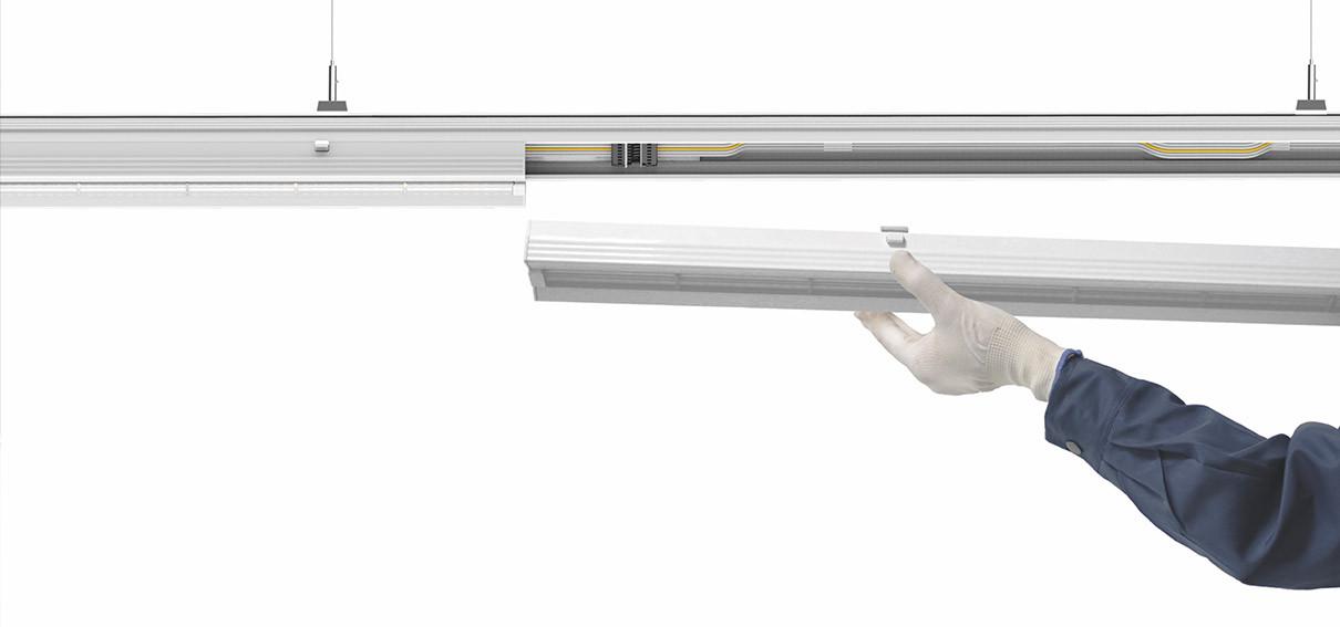 Светодиодная транковая линейная система - светильник Космос HiLink 40w
